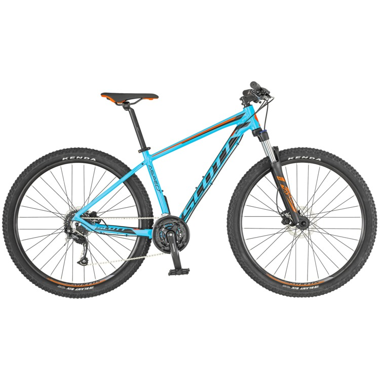 SCOTT Aspect 750 Light blue/Red Bike