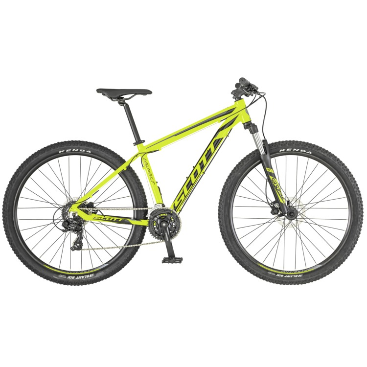 SCOTT Aspect 760 yellow/grey Bike