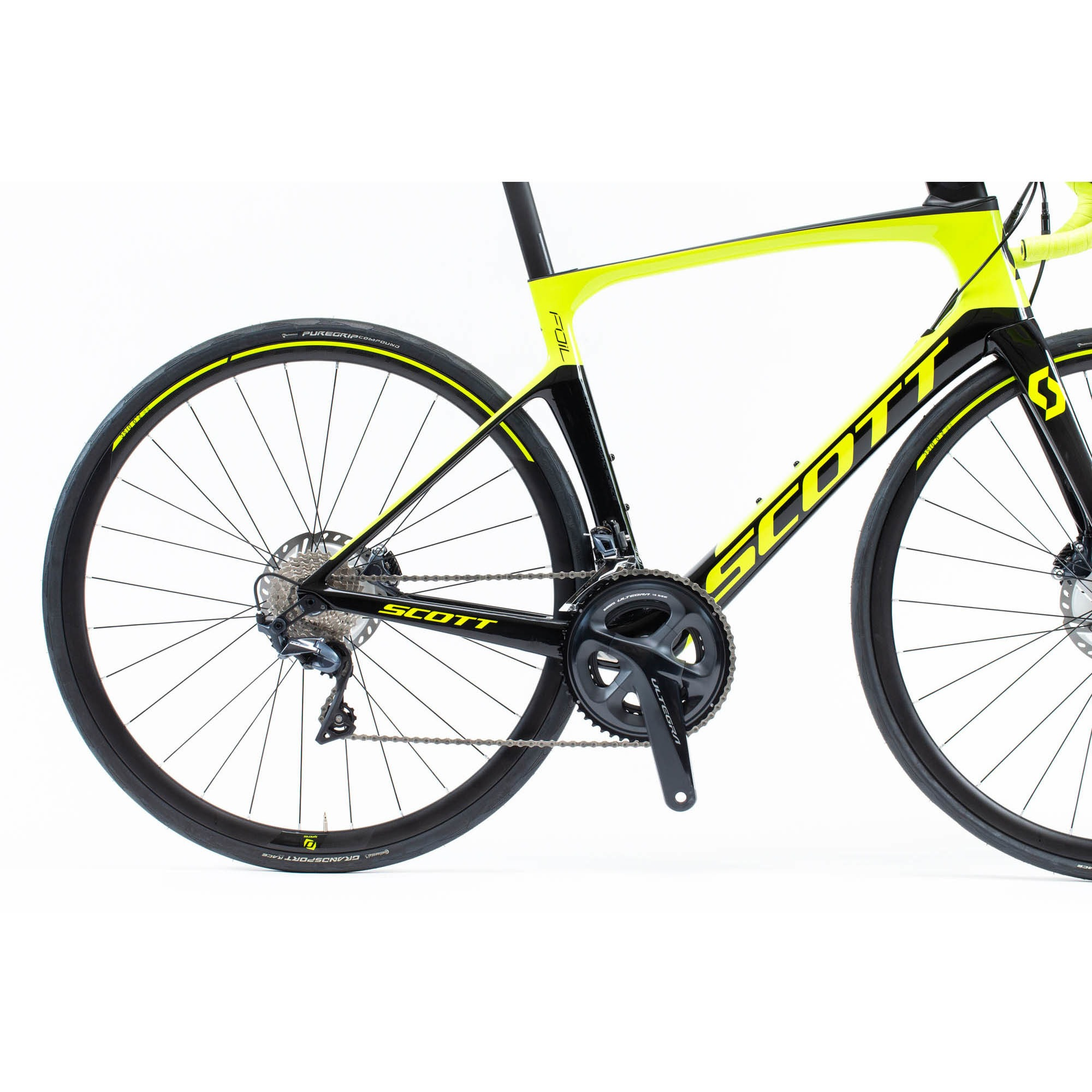 SCOTT Foil 20 disc yellow/black Bike