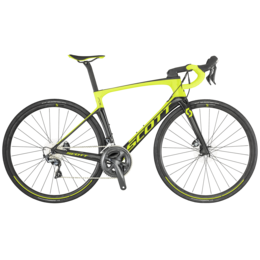 Vélo SCOTT Foil 20 disc yellow / black