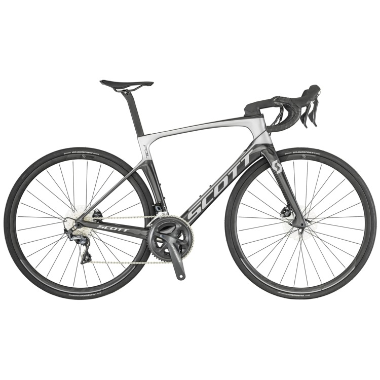 Vélo SCOTT Foil 20 disc silver / black