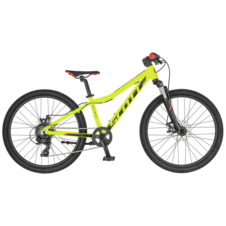 Bicicletta SCOTT Scale 24 Disc yellow