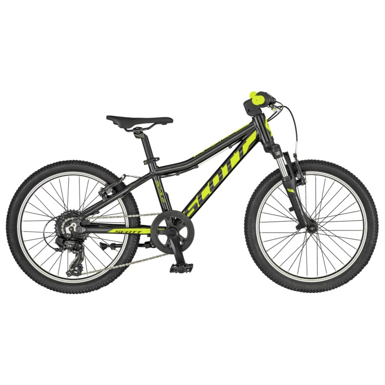 Bicicleta SCOTT Scale 20 black/yellow