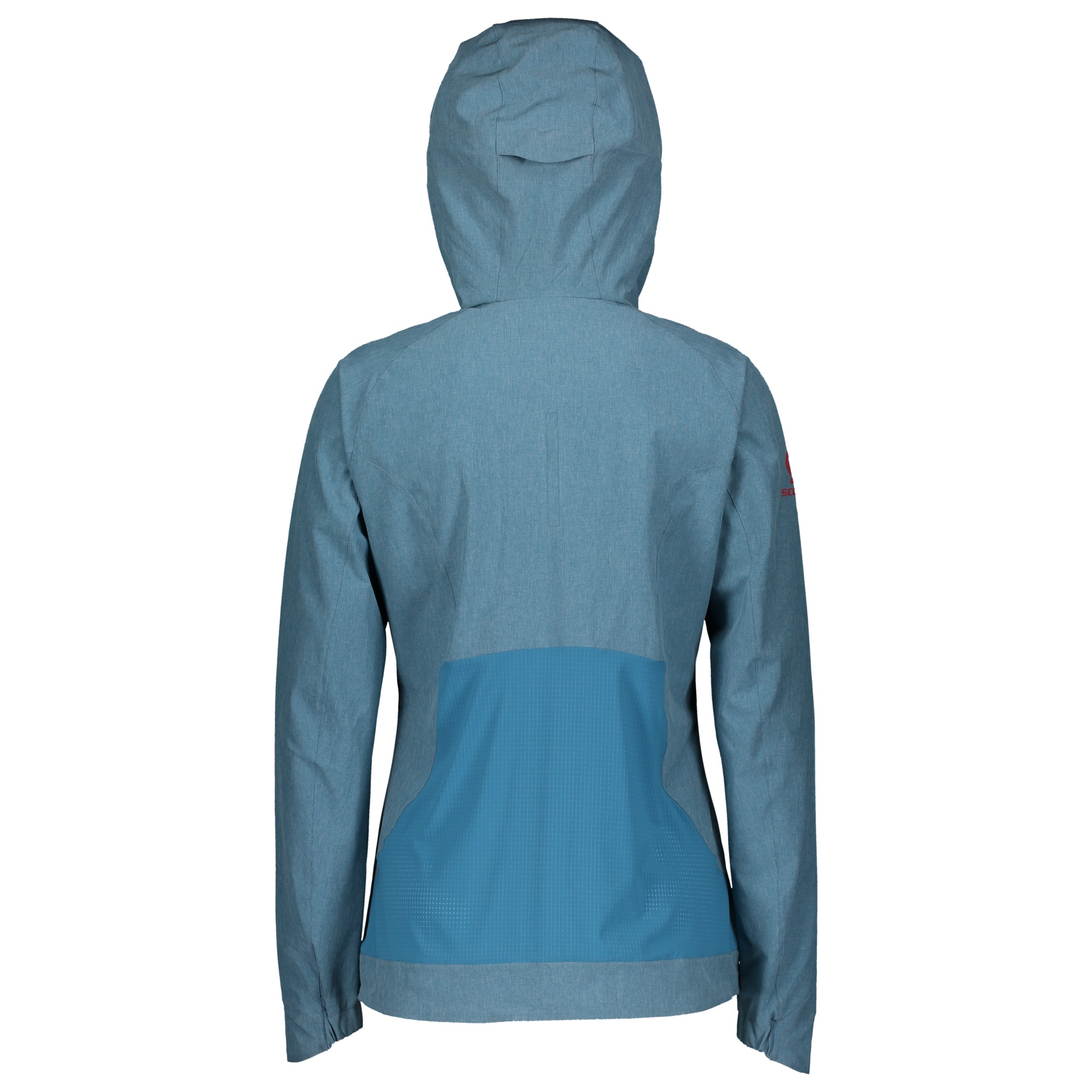 Felpa con cappuccio e mezza zip da donna SCOTT Trail MTN Stretch 50