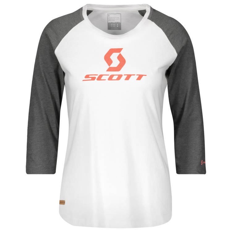 SCOTT 10 Icon Raglan l/sl Damen T-Shirt
