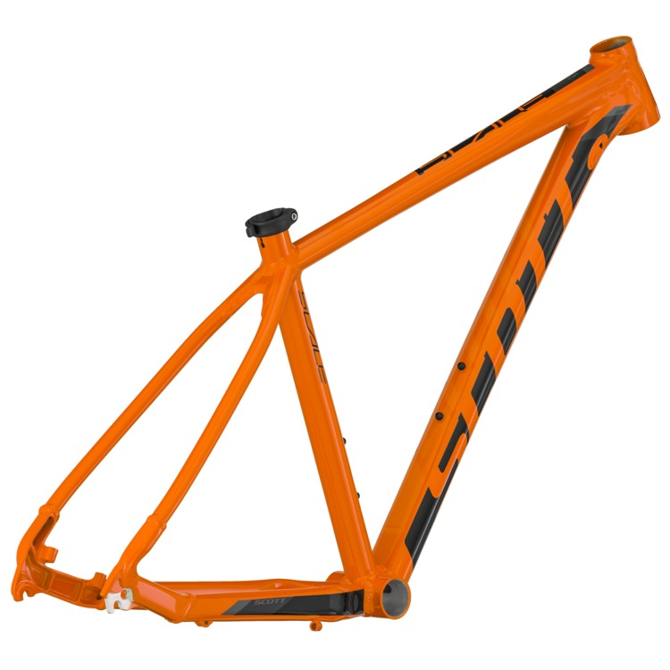 SCOTT Scale 760 orange/black Frame