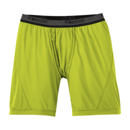 OR Men's Echo Boxer Briefs lemongrass/pewter