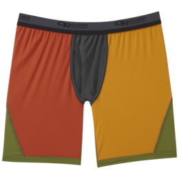 OR Men's Echo Boxer Briefs burnt orange multi
