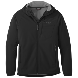 OR Men's Ferrosi Grid Hooded Jacket black
