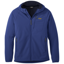 OR Men's Ferrosi Grid Hooded Jacket sapphire
