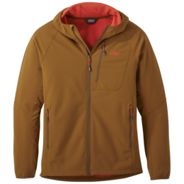 OR Men's Ferrosi Grid Hooded Jacket saddle
