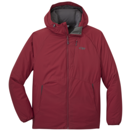 OR Men's Refuge Hooded Jacket retro red