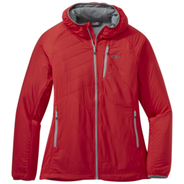 OR Women's Refuge Air Hooded Jacket teaberry