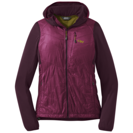 OR Women's Vigor Hybrid Hooded Jacket cacao/beet