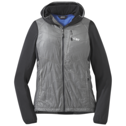 OR Women's Vigor Hybrid Hooded Jacket storm/light pewter