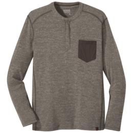 OR Men's Westport Henley mushroom heather