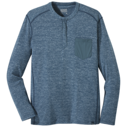 OR Men's Westport Henley prussian blue heather