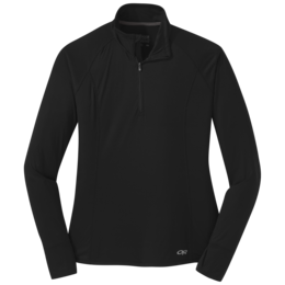 OR Women's Echo Quarter Zip black