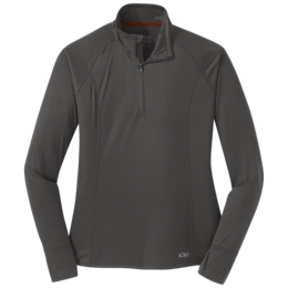 OR Women's Echo Quarter Zip pewter
