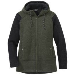 OR Women's Flurry Jacket forest/black