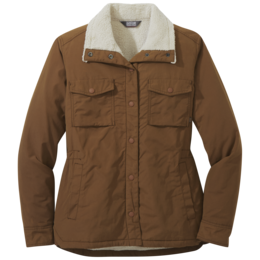 OR Women's Wilson Shirt Jacket saddle