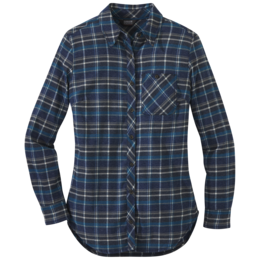 OR Women's Kulshan Flannel Tunic prussian blue