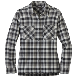 OR Women's Feedback Flannel Shirt storm plaid
