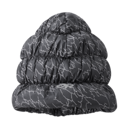 OR Transcendent Down Beanie, Printed storm print