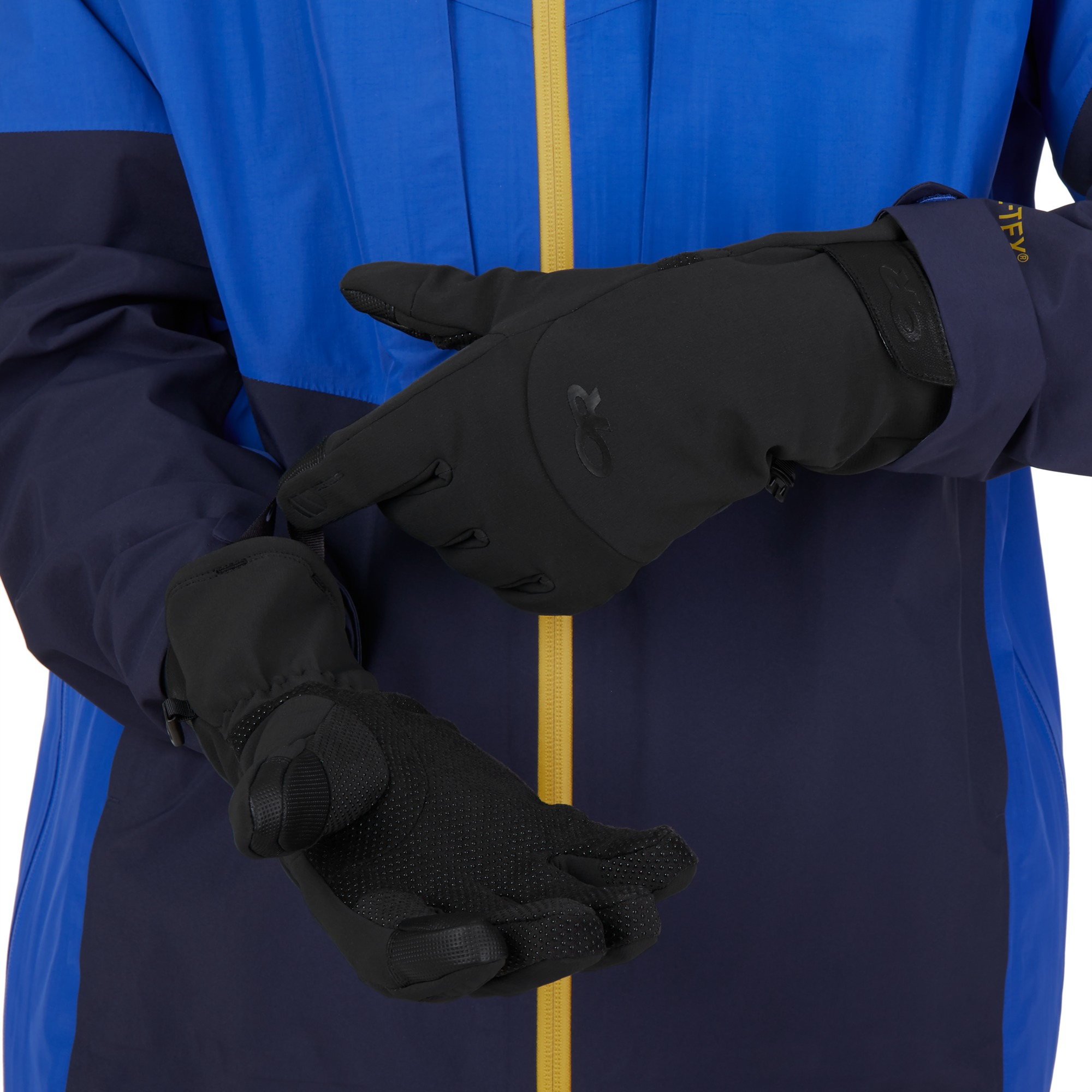 Inception Aerogel Gloves - saddle/black   Outdoor Research