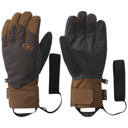 OR Men's Fortress Sensor Gloves saddle/dark roast