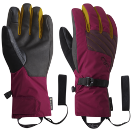 OR Women's Fortress Sensor Gloves beet/cacao/turmeric