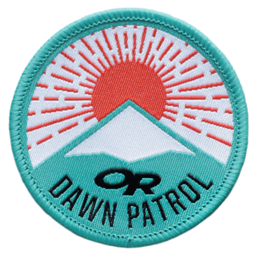 OR Dawn Patrol Merit Badge no color