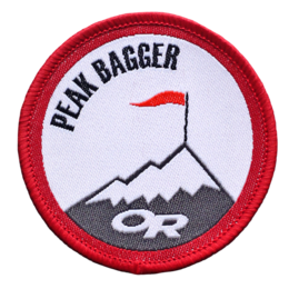OR Peak Bagger Merit Badge no color