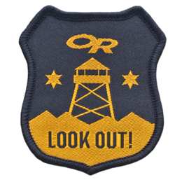 OR Lookout Merit Badge no color