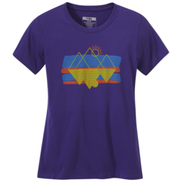 OR Women's Reflections S/S Tee iris