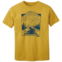 OR Men's Rainier S/S Tee goldenrod