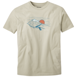 OR Men's Mountain Sunset S/S Tee slate