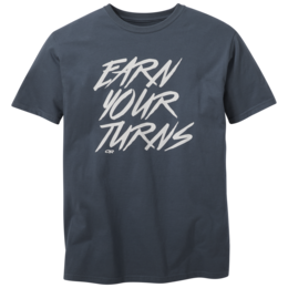 OR Men's Earn Your Turns S/S Tee night