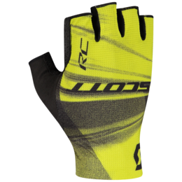 Yellow Scott RC Pro Fingerless Cycling Gloves
