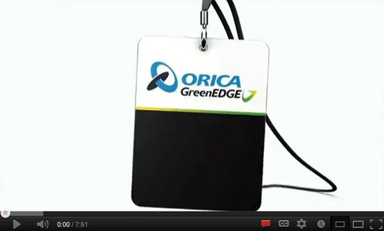 ORICA-GreenEDGE Backstage Pass