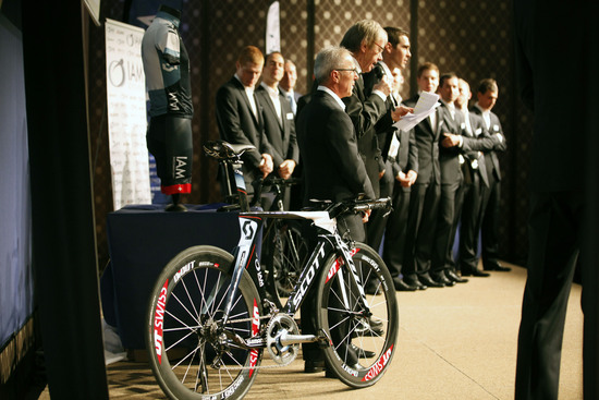 IAM Cycling athletes will also compete on the SCOTT Plasma in time trials.