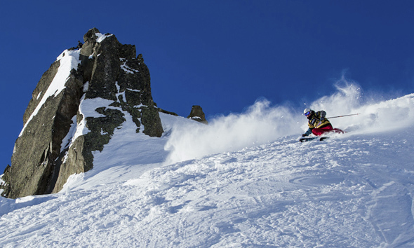 3rd stop of the Freeride World Tour 13 in Chamonix
