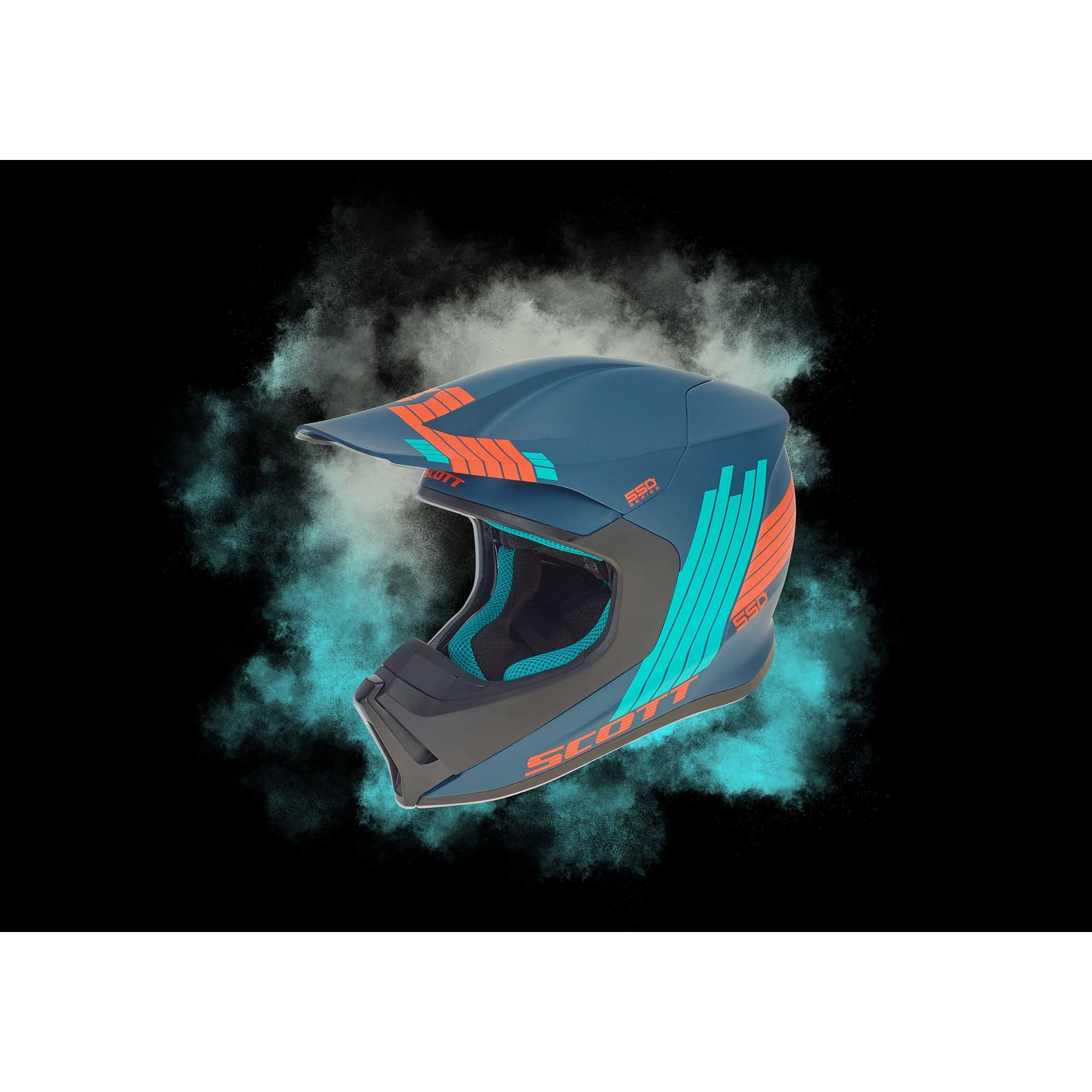 Casco SCOTT 550 Stripes ECE