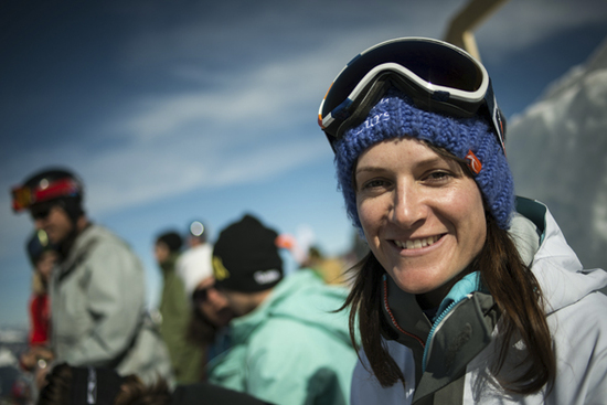 Lori Huber happy to get a Wildcard for Verbier