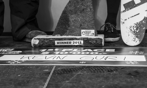Kevin Guri wins the Verbier Xtreme 2013