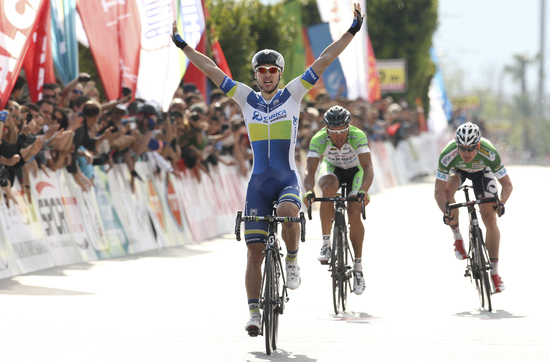 Kruopis outsprints competitors at Stage 2 of Tour of Turkey