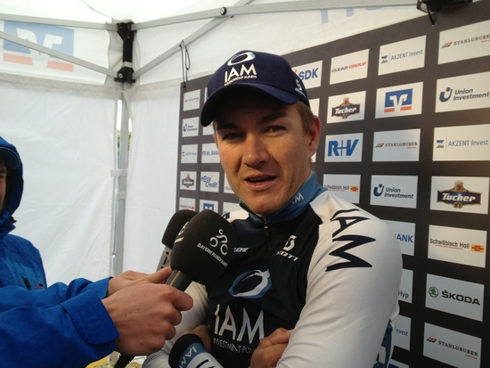 Haussler after taking victory