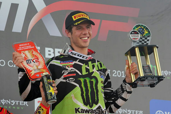 Arnaud Tonus wins his first ever GP