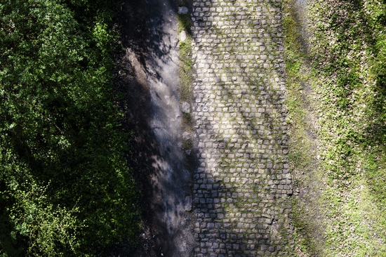 These cobbles mean trouble – in the famous Trouée d'Arenberg