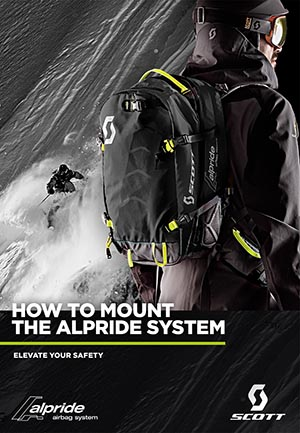 How to mount the alpride system